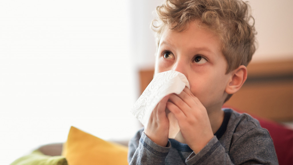 kids flu and cough