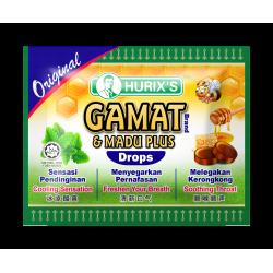 Hurix's Gamat Brand & Madu Plus Drops (Original)