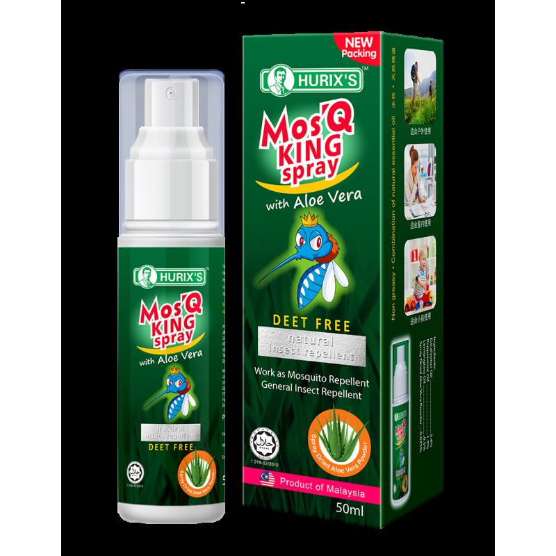 Hurix's Mos'q King Spray (with Aloe Vera)