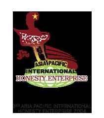 3rd Asia Pacific International Honesty Enterprise 2004 logo