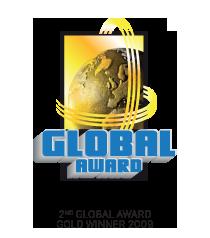 2nd Global Wards Gold Winner 2009 logo