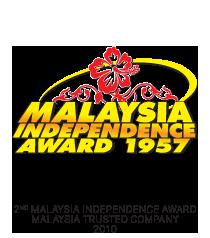 2nd Malaysia Independence Award Malaysia Trusted Company 2010 logo