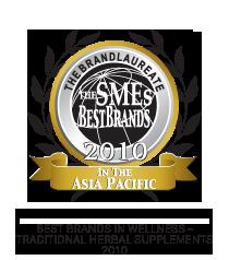 Best Brands in Wellness - Tranditional Herbal Supplements 2010 logo