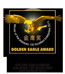 Golden Eagle Award Malaysia 100 Excellent Enterprise 2013